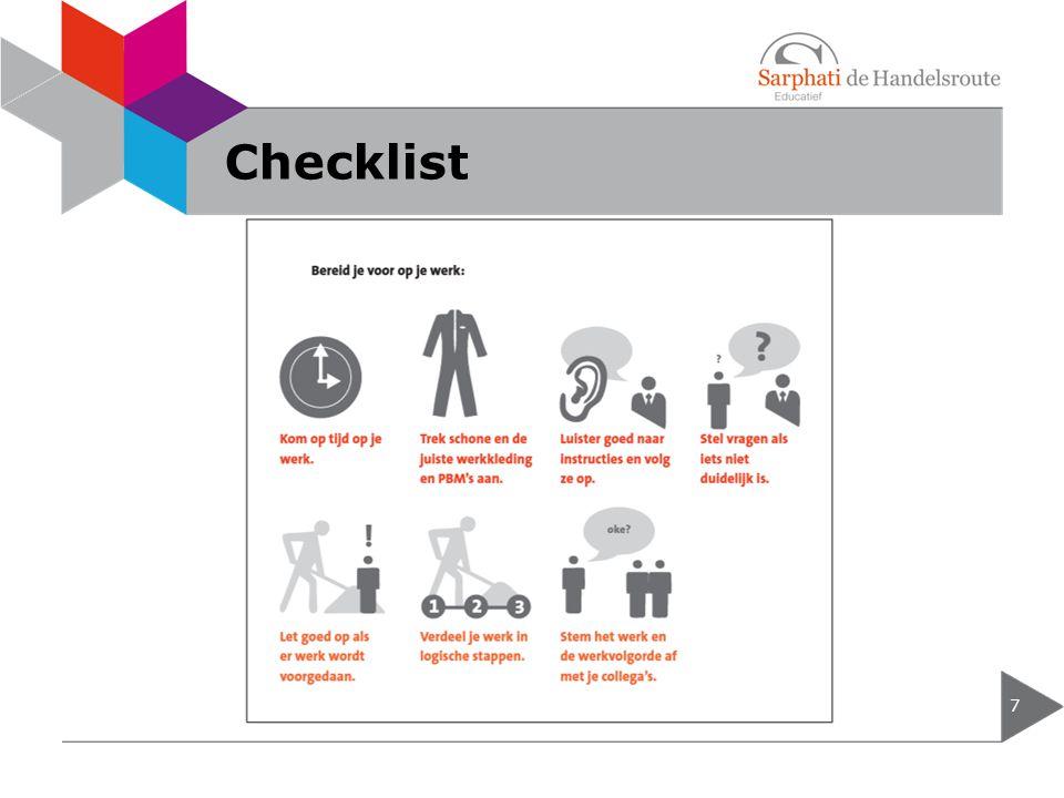 Checklist 7