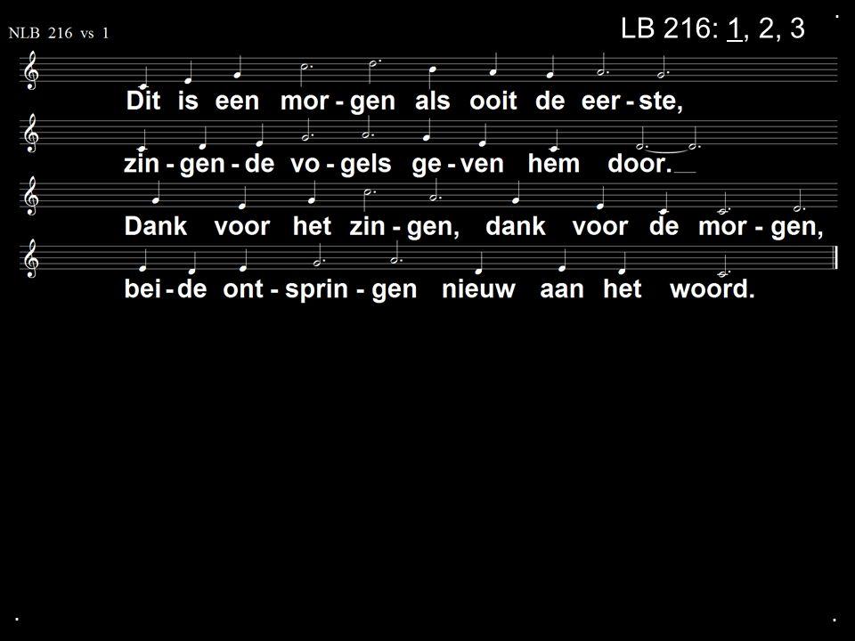 ... LB 216: 1, 2, 3