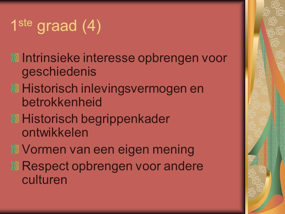 2 de graad (1) Cf.