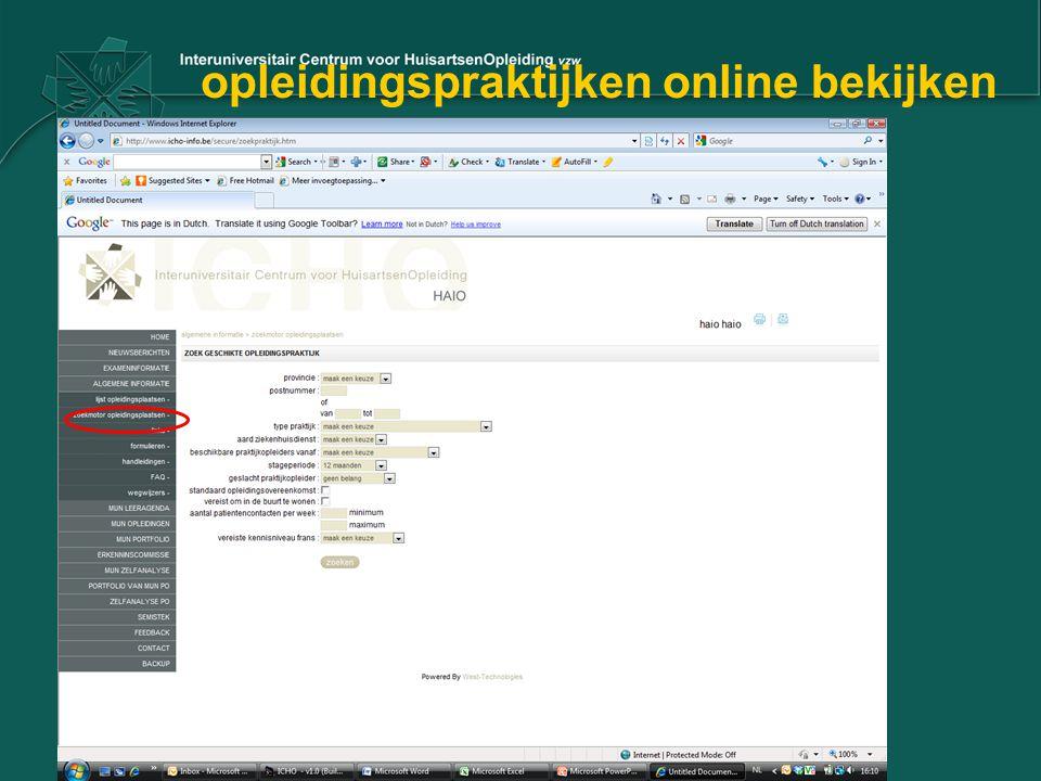 opleidingspraktijken online bekijken
