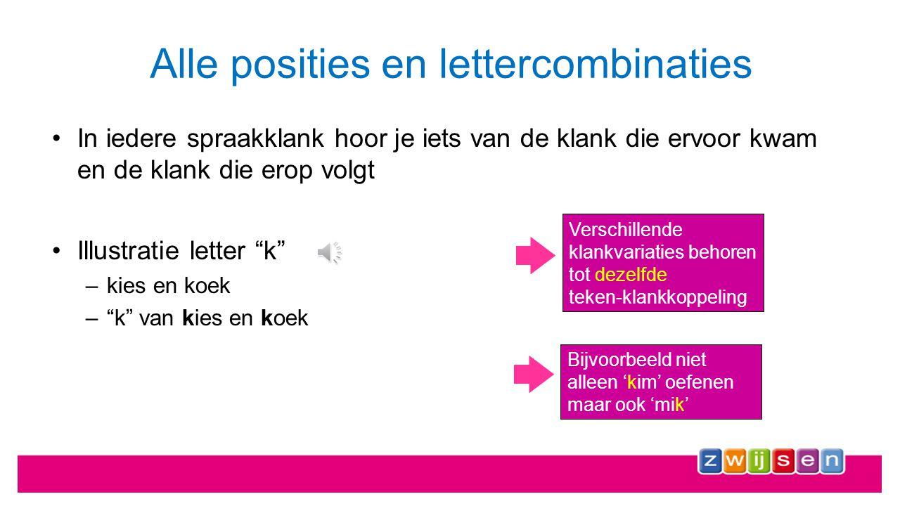 Klankuitspraak (articulatie) Lettervorm (orthografie) Letterfamilie (categorie) Verkennen in alle facetten m