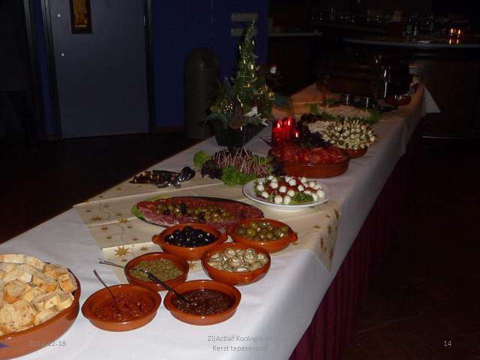 2012-12-18 ZijActief Koningslust Kerst tapasavond 14
