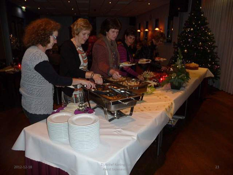 2012-12-18 ZijActief Koningslust Kerst tapasavond 23