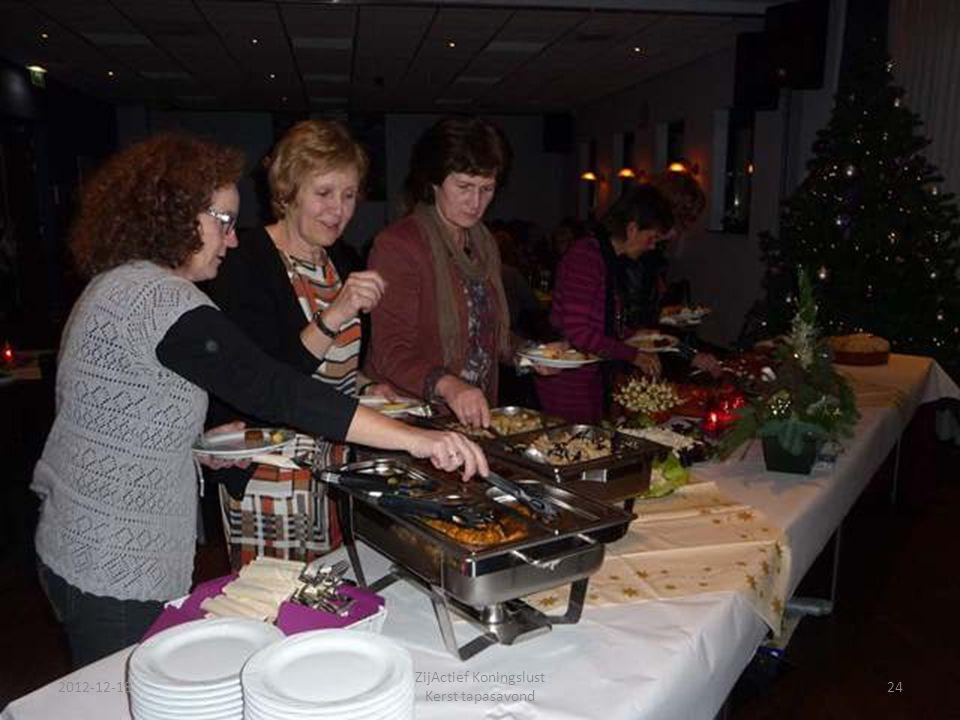 2012-12-18 ZijActief Koningslust Kerst tapasavond 24