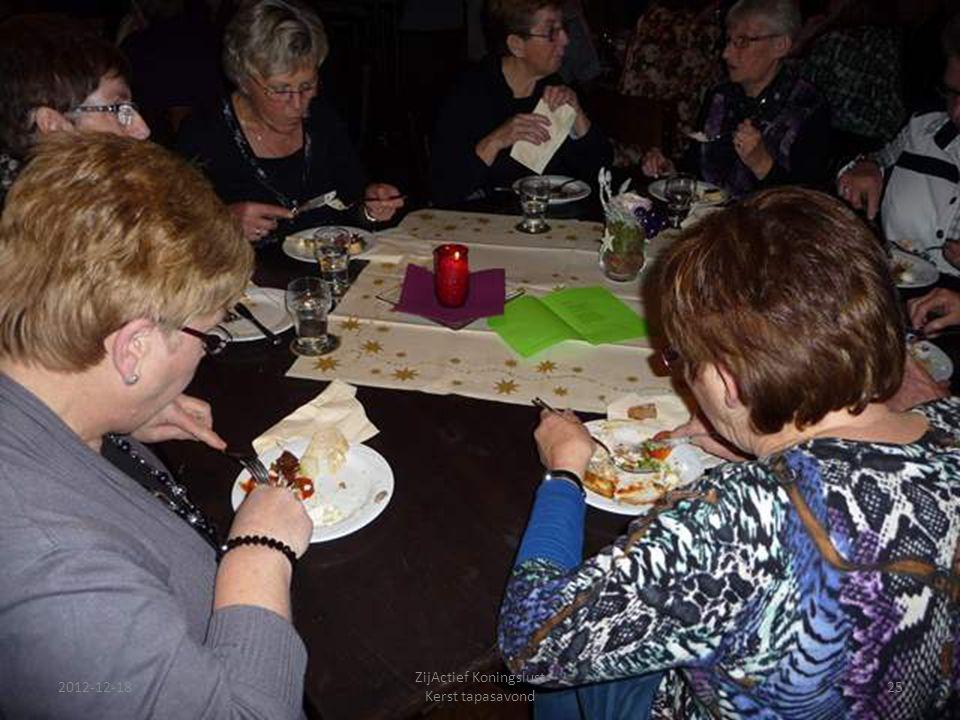 2012-12-18 ZijActief Koningslust Kerst tapasavond 25