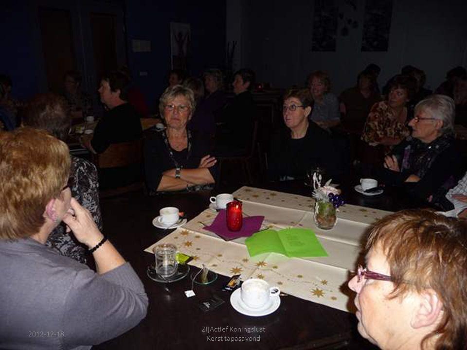 2012-12-18 ZijActief Koningslust Kerst tapasavond 3