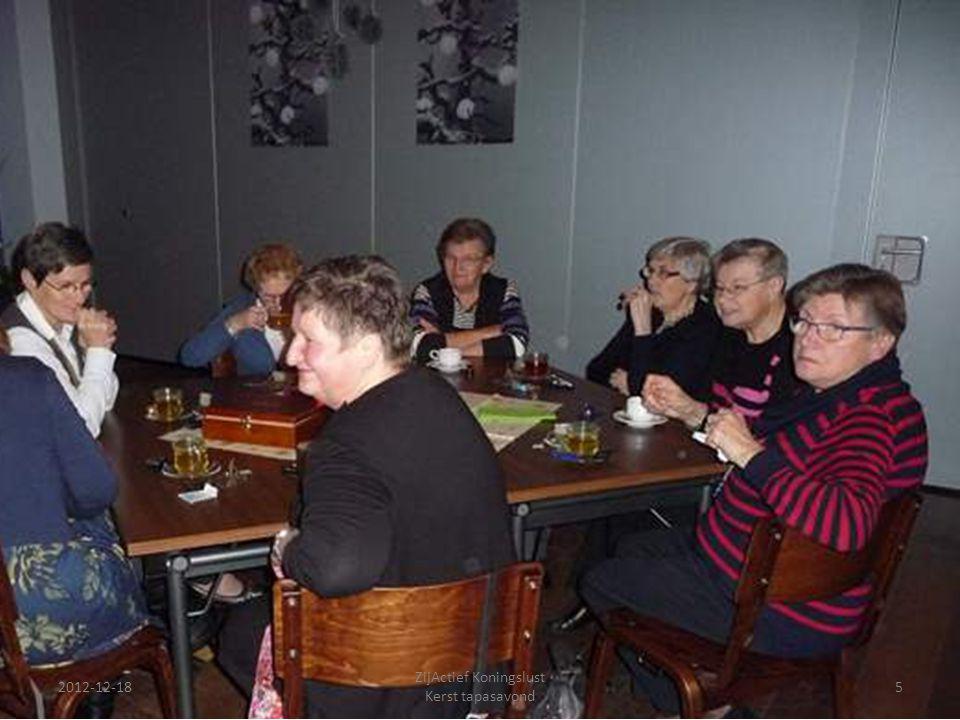 2012-12-18 ZijActief Koningslust Kerst tapasavond 5