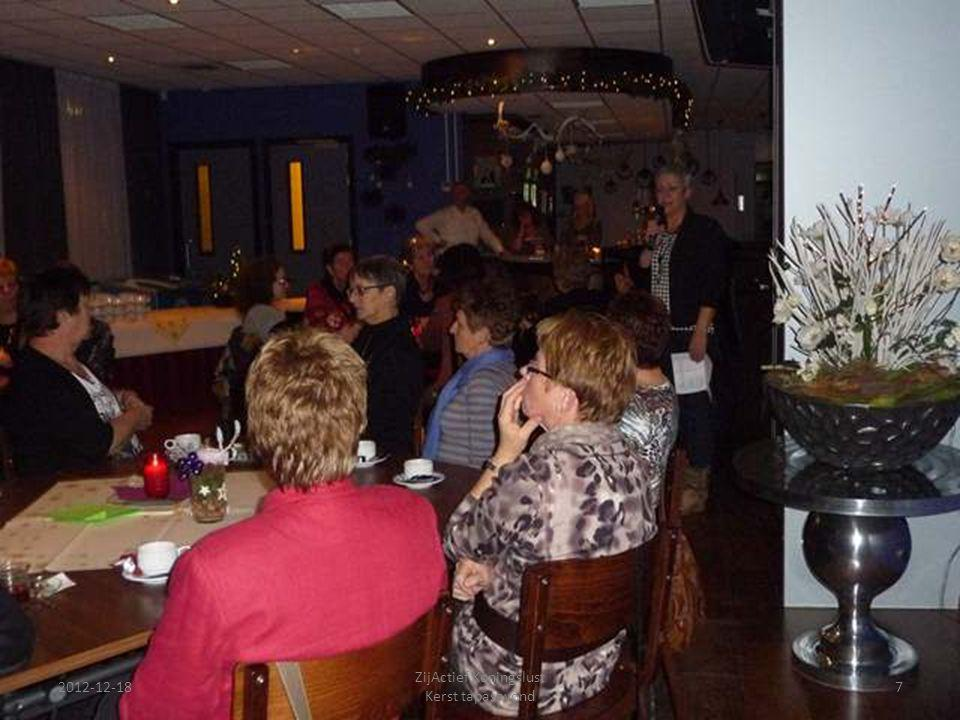2012-12-18 ZijActief Koningslust Kerst tapasavond 18