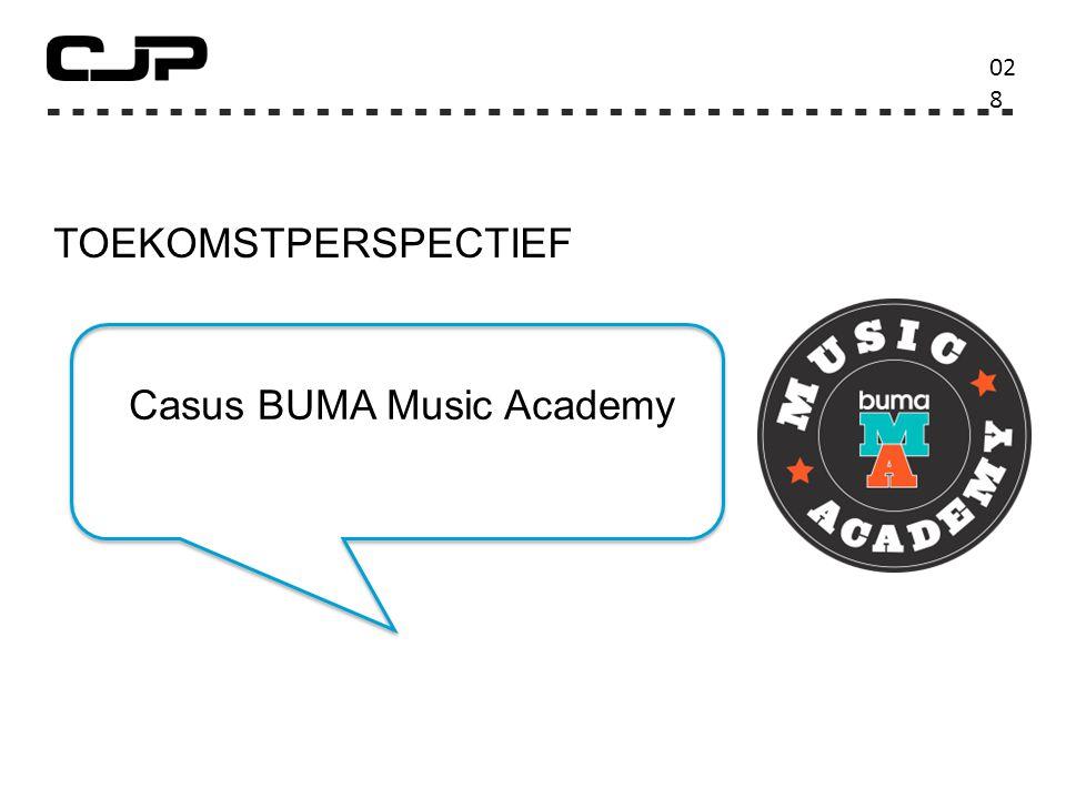 TOEKOMSTPERSPECTIEF 02828 Casus BUMA Music Academy