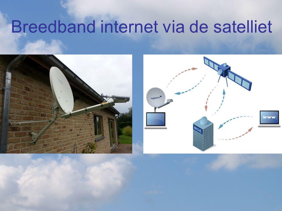 De tweeweg breedbanddienst via de Astra-satelliet is een ideale oplossing voor buitengebieden waar aanleg van vaste internetverbindingen vaak niet rendabel is.