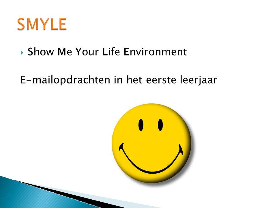  Show Me Your Life Environment E-mailopdrachten in het eerste leerjaar