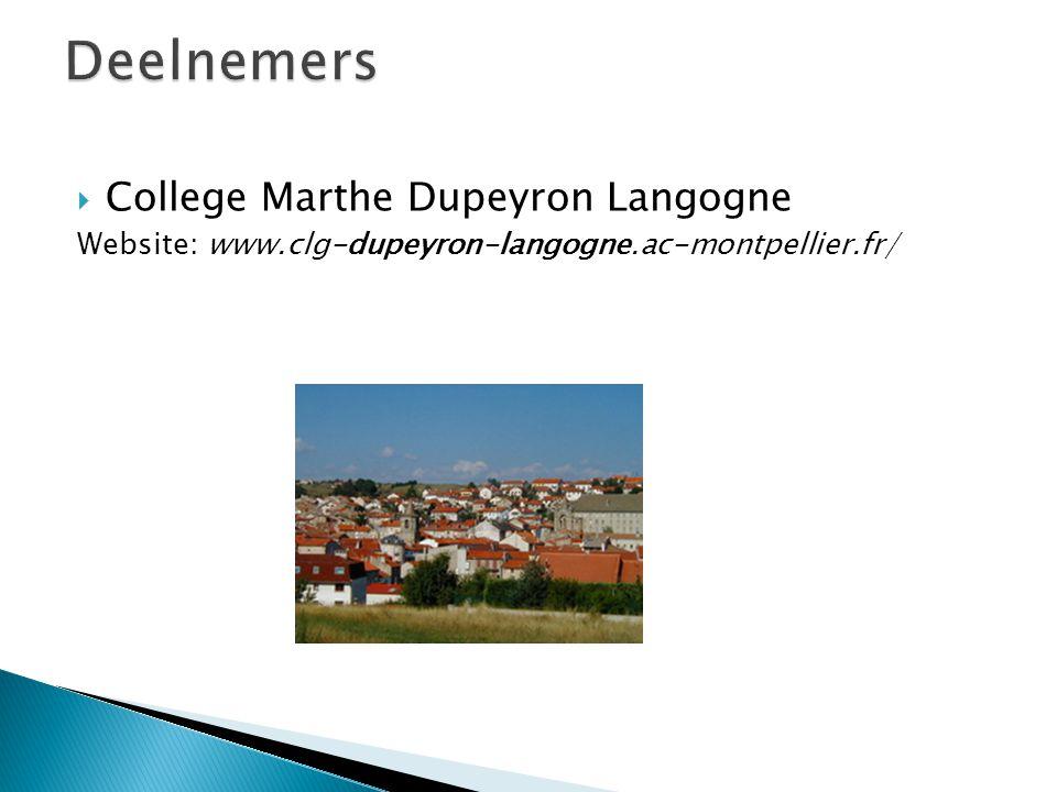  College Marthe Dupeyron Langogne Website: www.clg-dupeyron-langogne.ac-montpellier.fr/