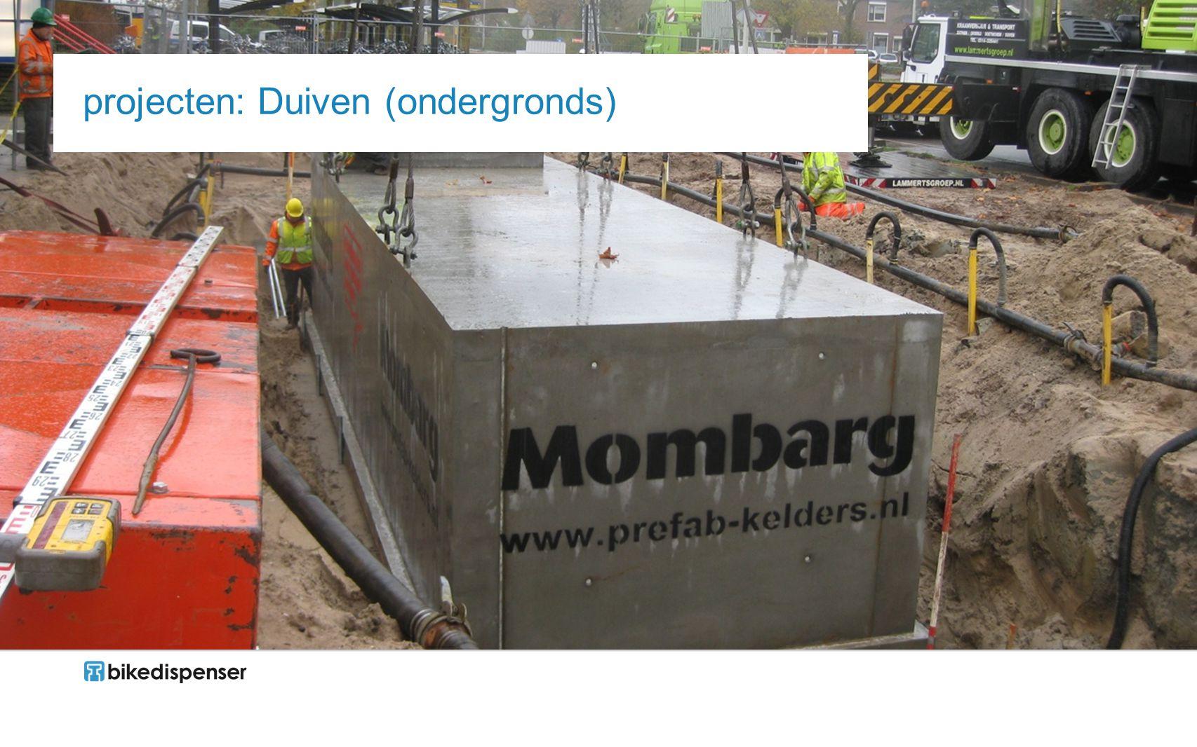 projecten: Duiven (ondergronds)