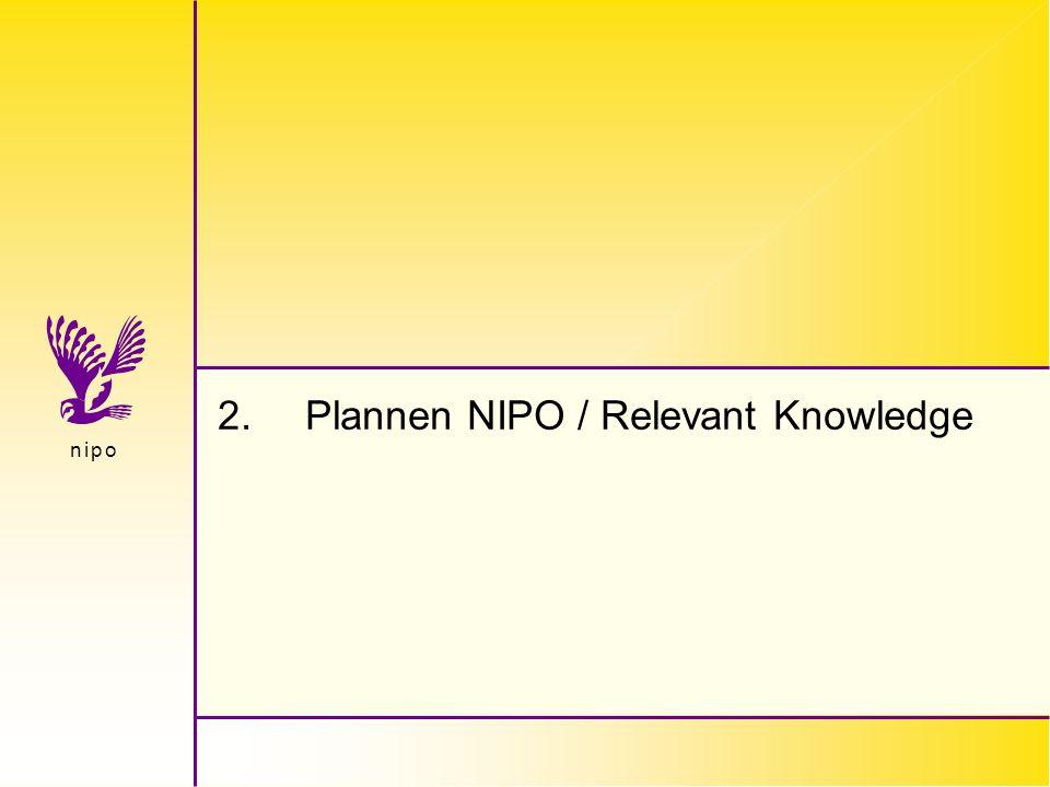 Betere Bereikcijfers voor het World Wide Web   januari, 98   © NIPO Amsterdam   20 n i p on i p o Wat wordt er standaard gemeten.
