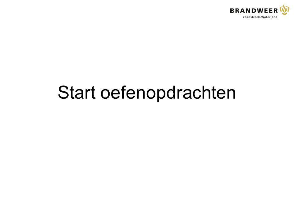 Start oefenopdrachten