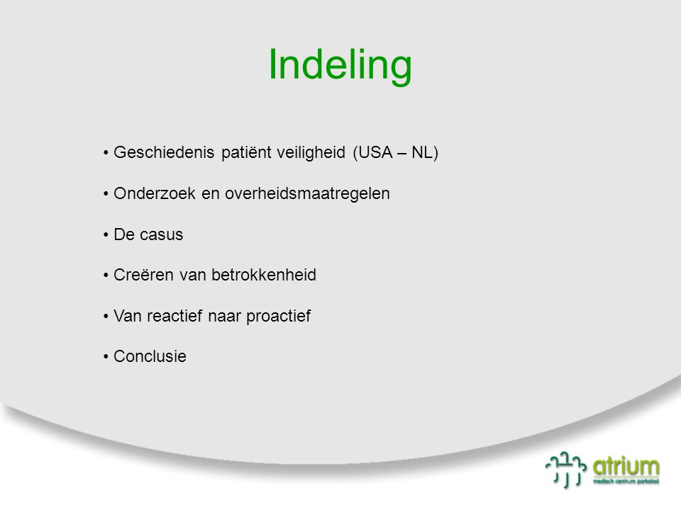 23 Scholing van voorbehouden en risicovolle handelingen Inventarisatie voor kennis bij verpleegkundigen Bepalen norm per afdeling v.w.b.