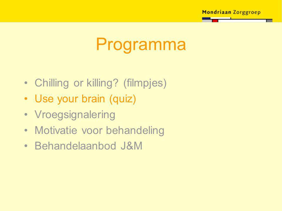 Motiveren bij de GGD Motiverende gespreksvoering als risicozorg Neem de tijd Betrek ouders maar spreek de jongere (ook) alleen Streef niet naar motivatie voor behandeling maar voor een vervolggesprek
