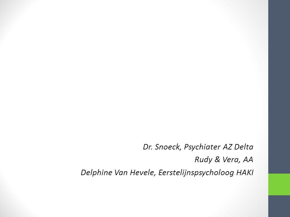 Inhoud 1.Zorgpad algemeen Dr. Snoeck 2.