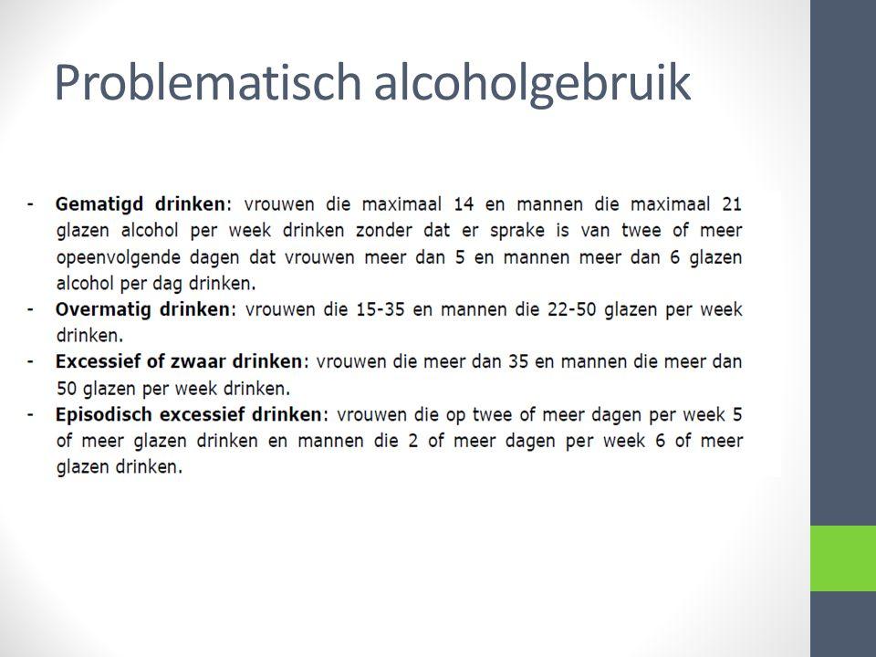 Farmacotherapie Reductie van inname alcohol Vitaminetekorten Ontwenning Terugvalpreventie Kan door de huisarts als hij zich geroepen voor voelt en bij het voldoen van enkele randvoorwaarden.