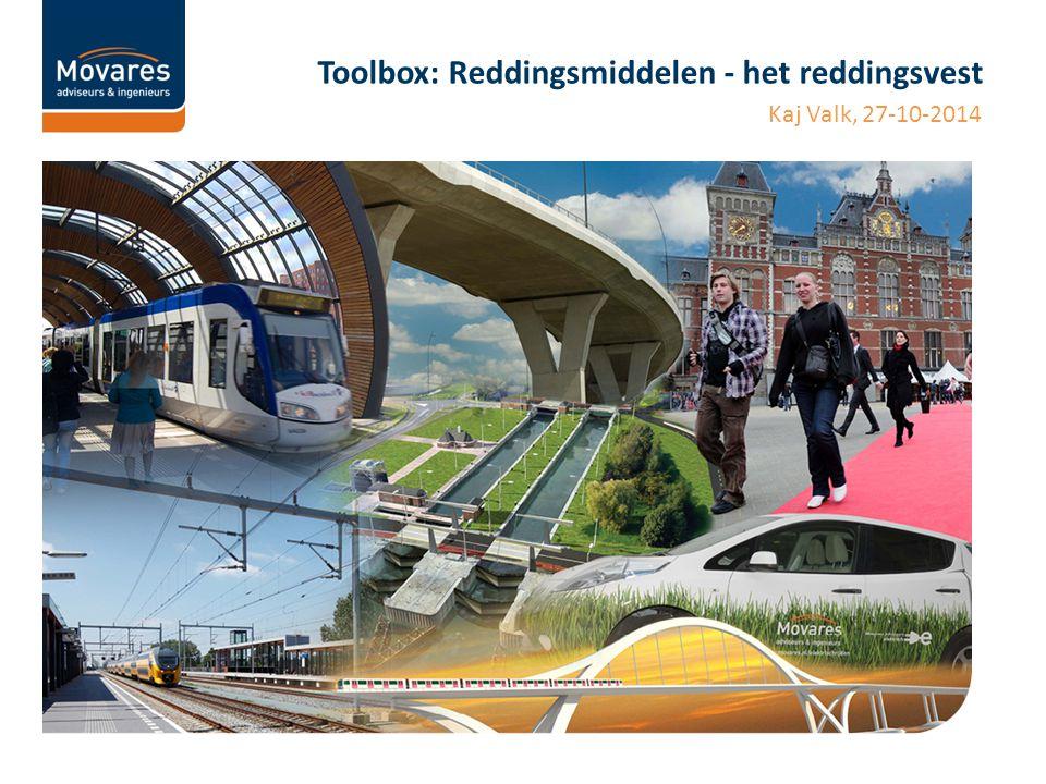 Toolbox: Reddingsmiddelen - het reddingsvest Kaj Valk, 27-10-2014