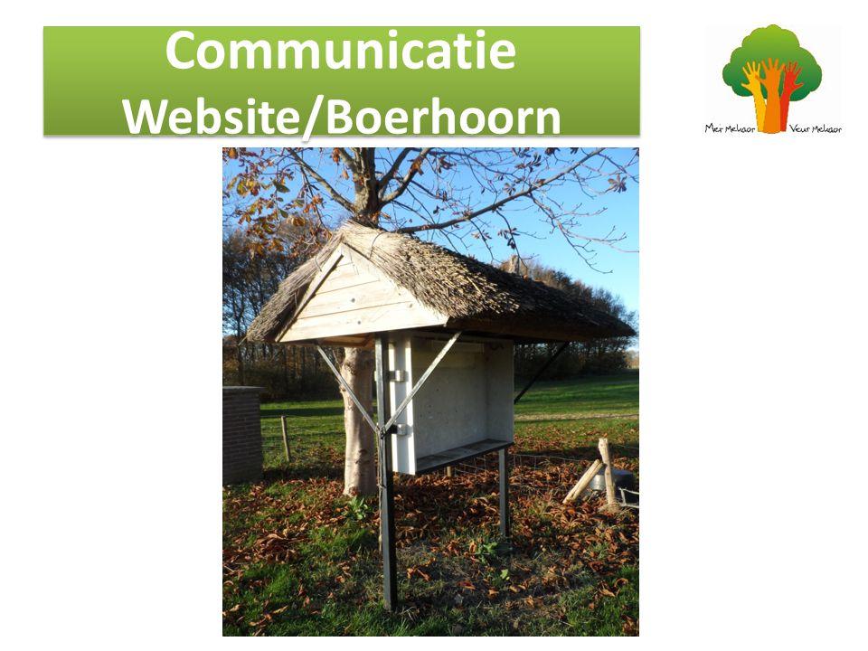 Is de website toegankelijk voor iedereen Blijft de Boerhoorn Komt de informatie over het dorp wel bij iedereen Iedereen in het dorp heeft toegang tot informatie met betrekking op het dorp.
