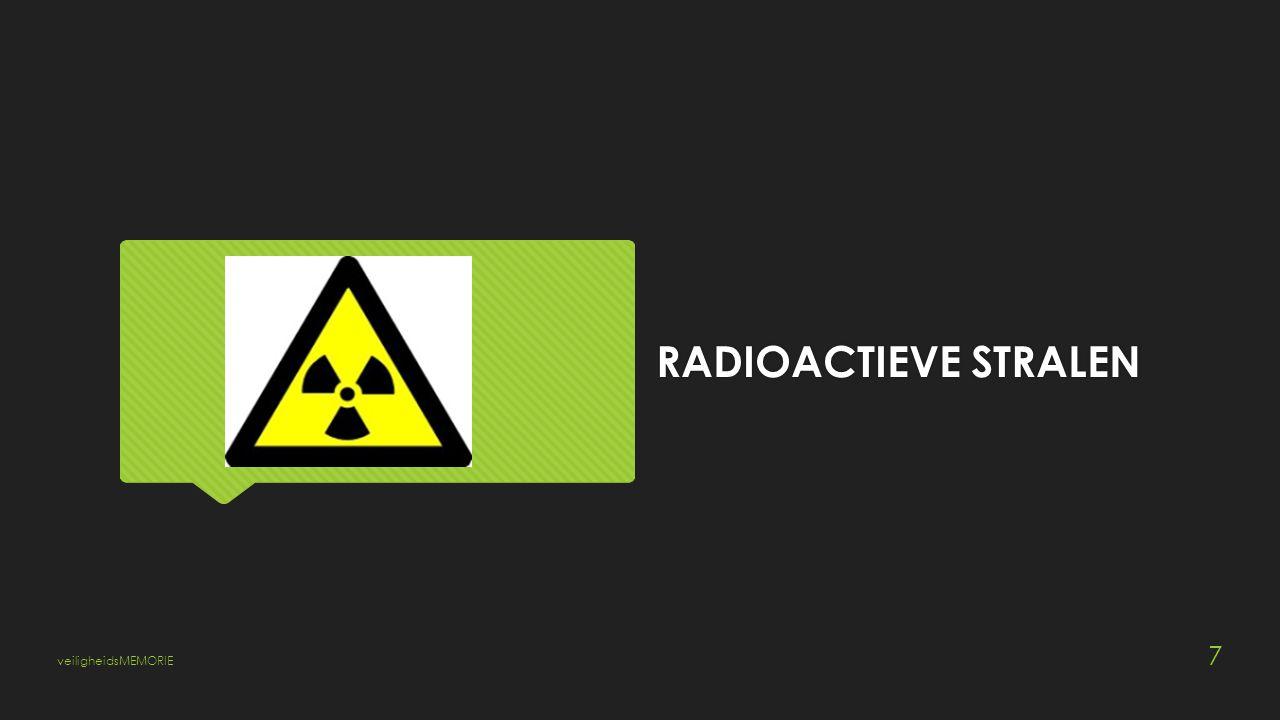 RADIOACTIEVE STRALEN veiligheidsMEMORIE 7