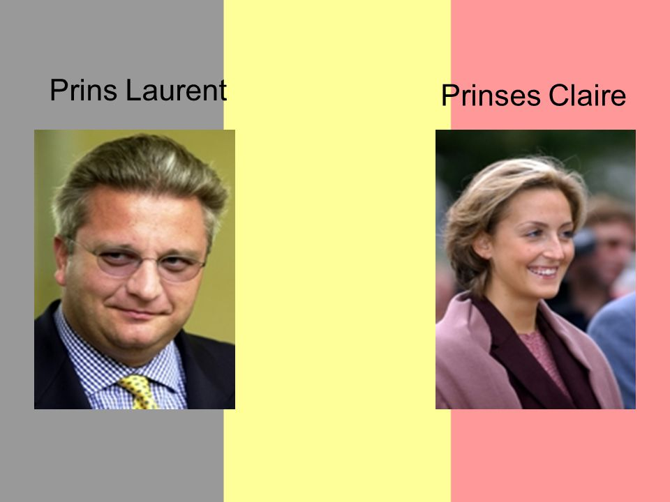 Prins Laurent Prinses Claire