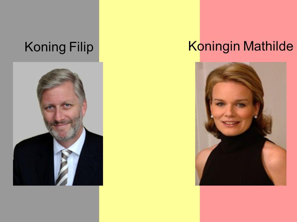 Koning Filip Koningin Mathilde