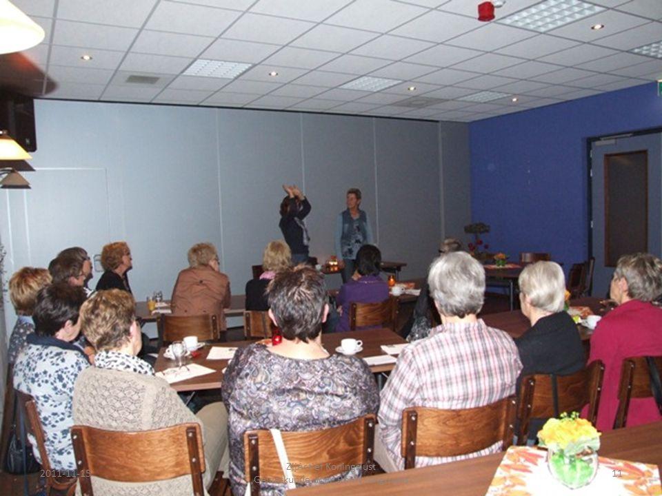 2011-11-1511 ZijActief Koningslust Gelaatkunde door Romy Jongmans
