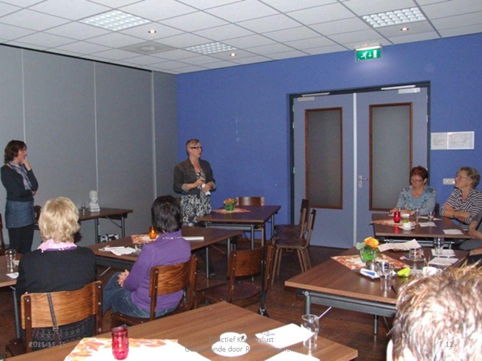 2011-11-1512 ZijActief Koningslust Gelaatkunde door Romy Jongmans
