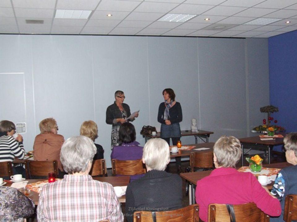 2011-11-152 ZijActief Koningslust Gelaatkunde door Romy Jongmans