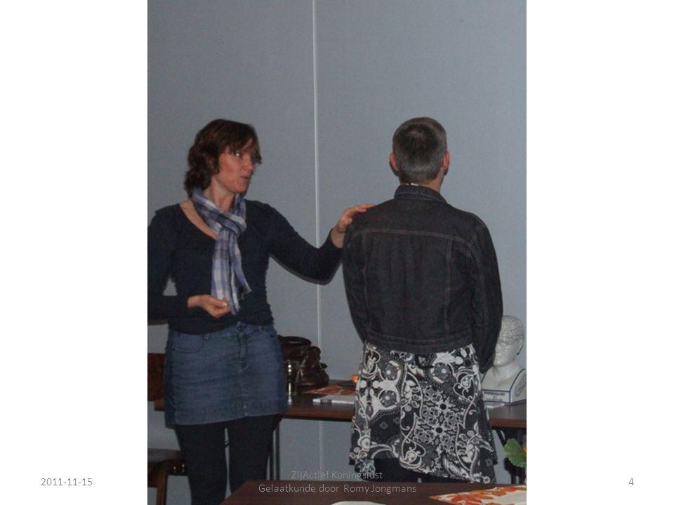 2011-11-154 ZijActief Koningslust Gelaatkunde door Romy Jongmans