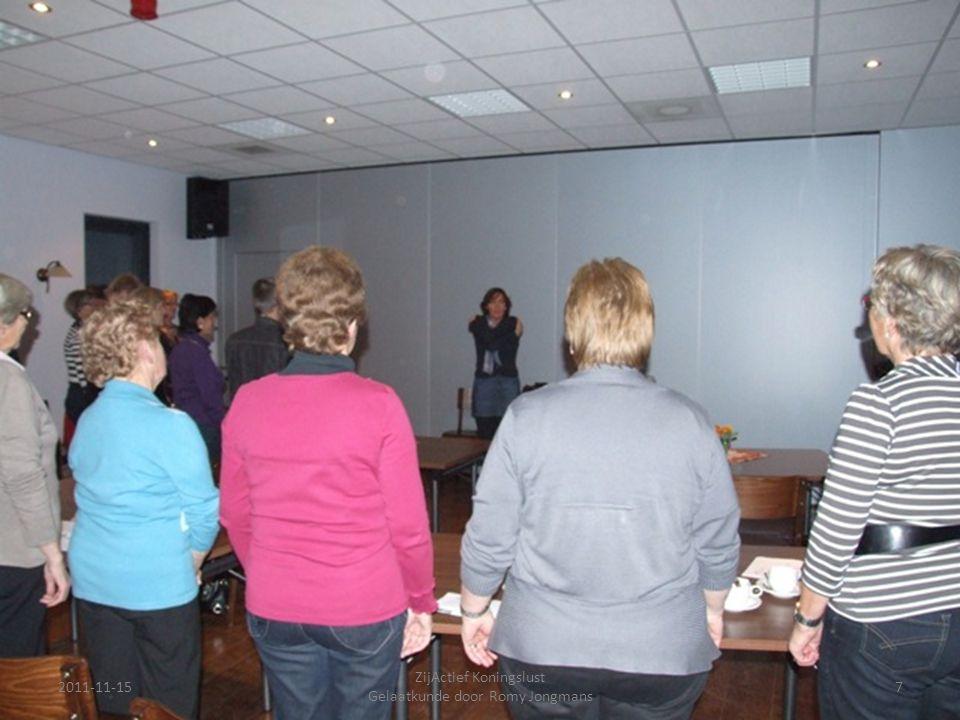 2011-11-157 ZijActief Koningslust Gelaatkunde door Romy Jongmans