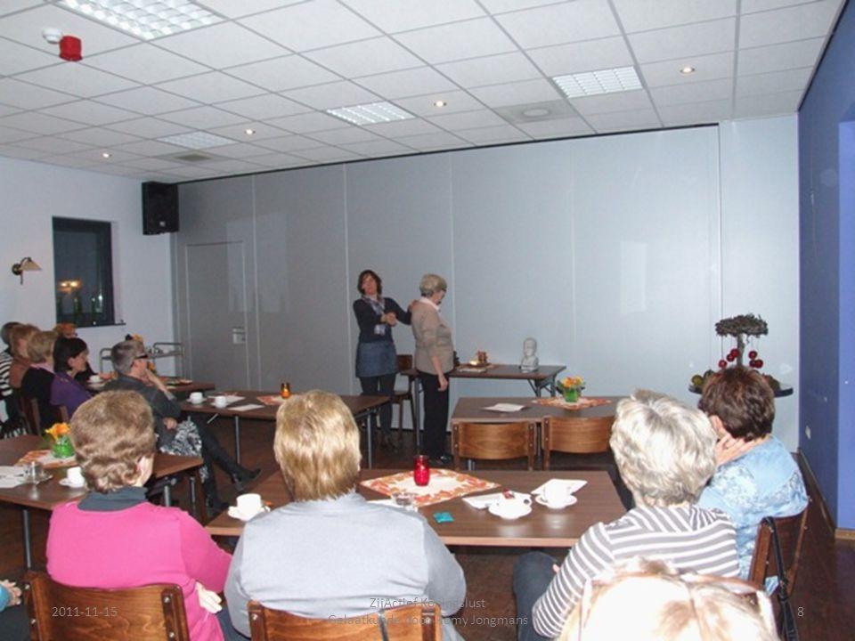 2011-11-158 ZijActief Koningslust Gelaatkunde door Romy Jongmans
