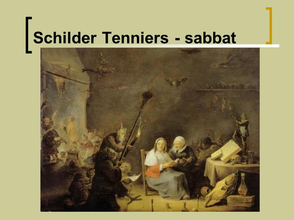 Schilder Tenniers - sabbat
