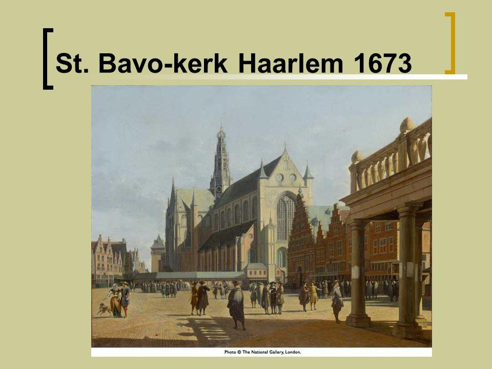 St. Bavo-kerk Haarlem 1673