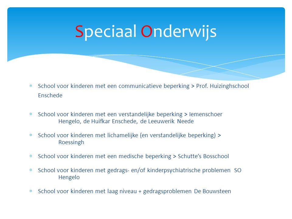  School voor kinderen met een communicatieve beperking > Prof.