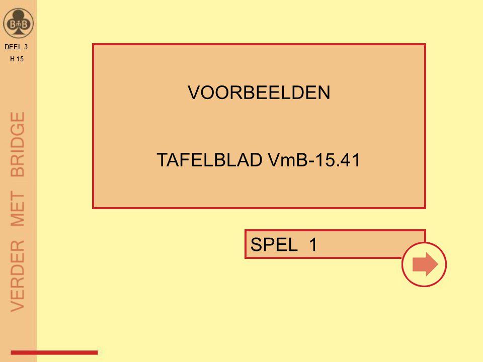 SPEL 1 VOORBEELDEN TAFELBLAD VmB-15.41 DEEL 3 H 15
