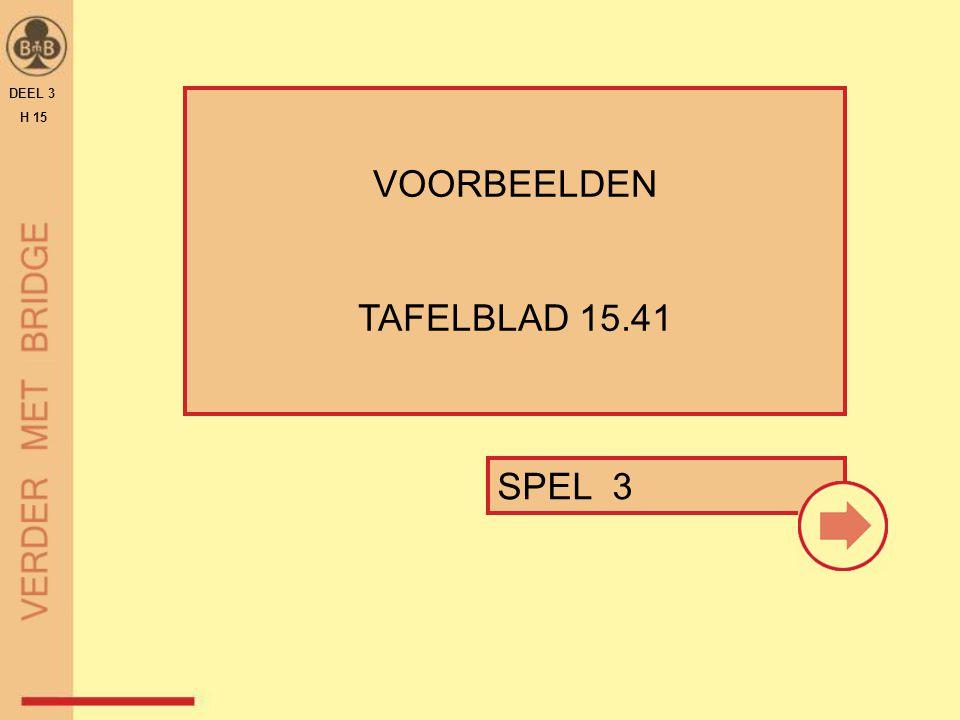 SPEL 3 VOORBEELDEN TAFELBLAD 15.41 DEEL 3 H 15