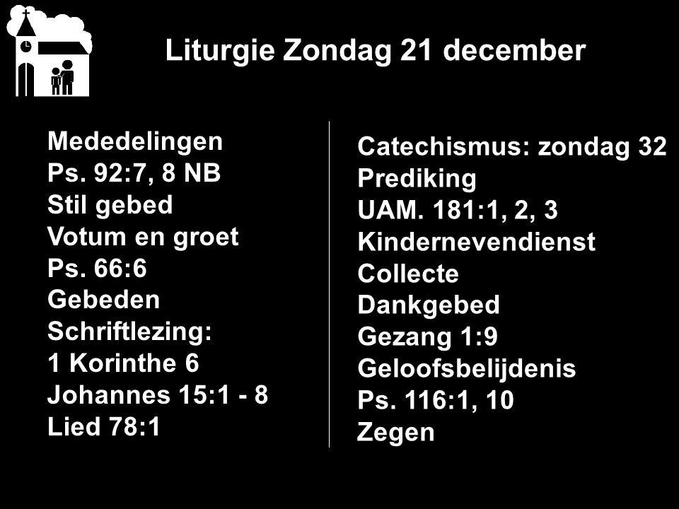 1 e Kerstdag 25 december 10.00 uur Ds.A.G.M.