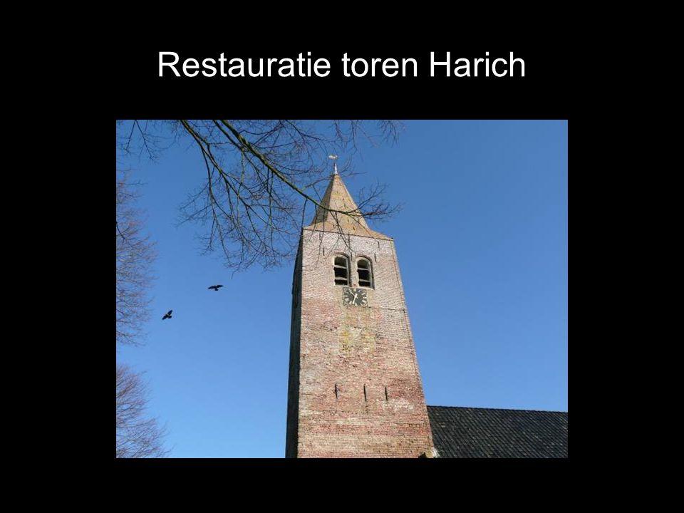 Restauratie toren Harich