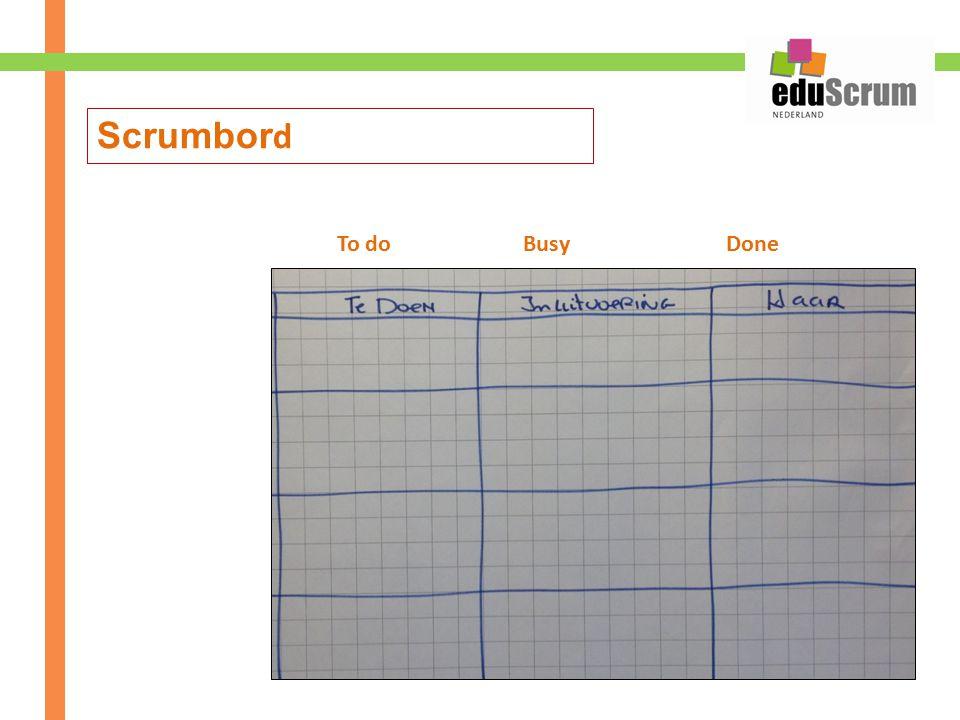 Scrumbord