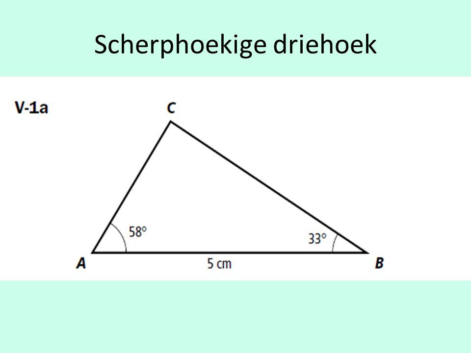 GL 2 + GH 2 = HL 2 (noteer eerst formule ) Algebraïsche methode:GL 2 + GH 2 = HL 2 (noteer eerst formule ) GL48 (vul de bekende gegevens in ) GL 2 + 4 2 = 8 2 (vul de bekende gegevens in ) GL1664 GL 2 + 16 = 64 GL64 -16 GL 2 = 64 -16 GL48 GL 2 = 48 Schuine zijde is nu gegeven, bereken GL