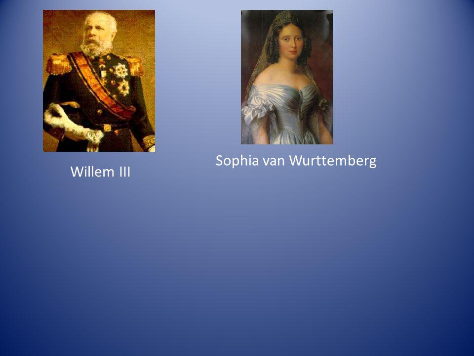 Sophia van Wurttemberg Willem III