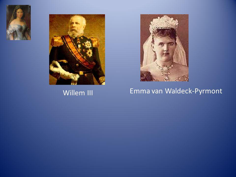 Willem III Emma van Waldeck-Pyrmont