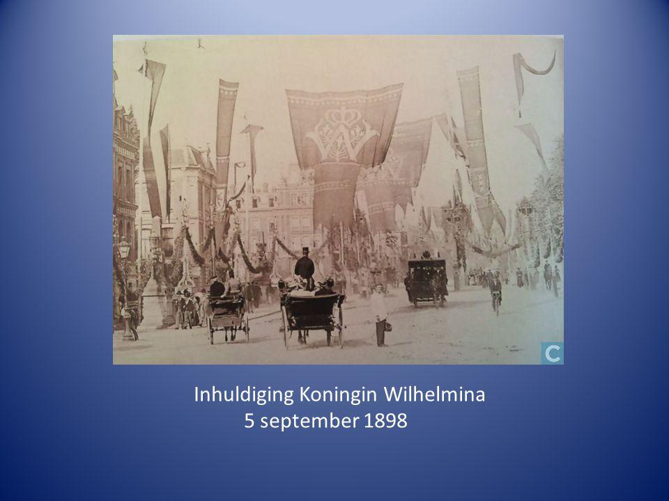 Inhuldiging Koningin Wilhelmina 5 september 1898