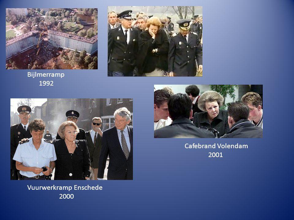 Bijlmerramp 1992 Vuurwerkramp Enschede 2000 Cafebrand Volendam 2001