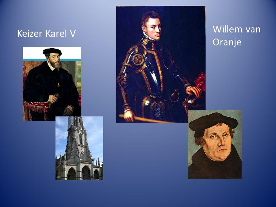 Keizer Karel V Willem van Oranje