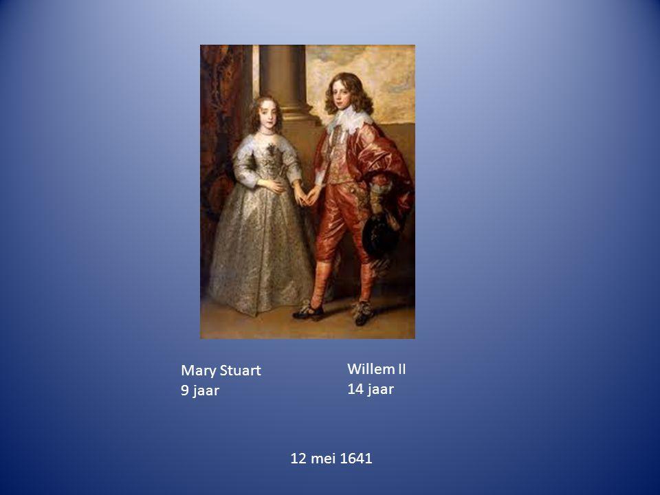 Mary Stuart 9 jaar Willem II 14 jaar 12 mei 1641