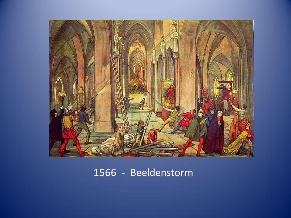 1566 - Beeldenstorm